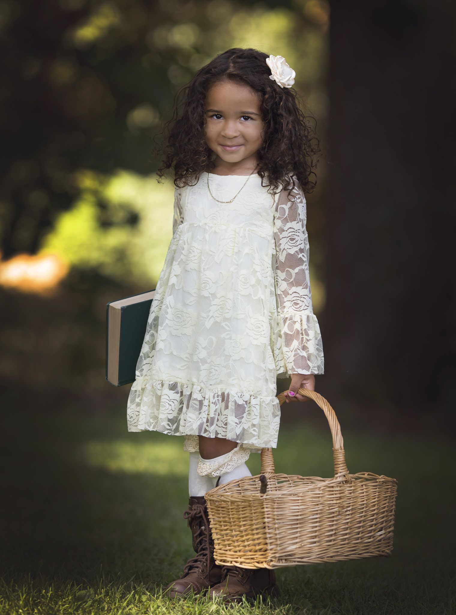 f36ecd523cdf Ivory Boho Chic Lace Dress