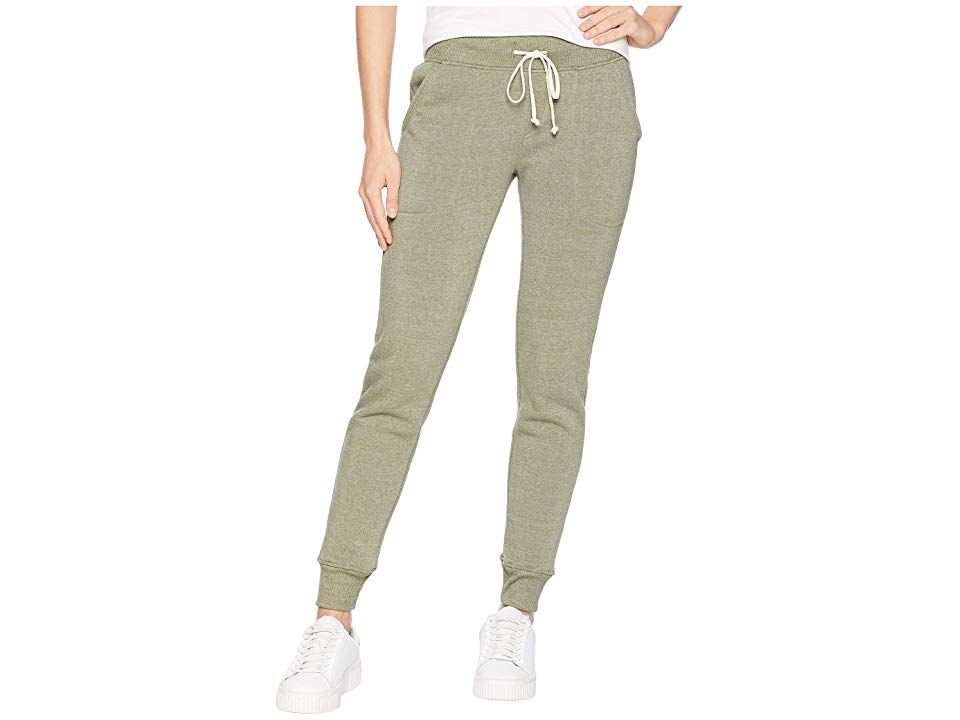 Alternative Eco Fleece Jogger Pant Eco True Army Green Womens Casual Pants Staying on trend shouldnt make you break a sweat Take things easy in this laidback Alternative...