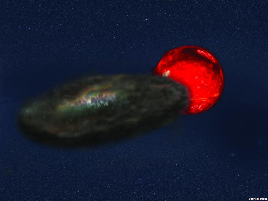Extreme Eclipse Spotted 10 000 Light Years Away