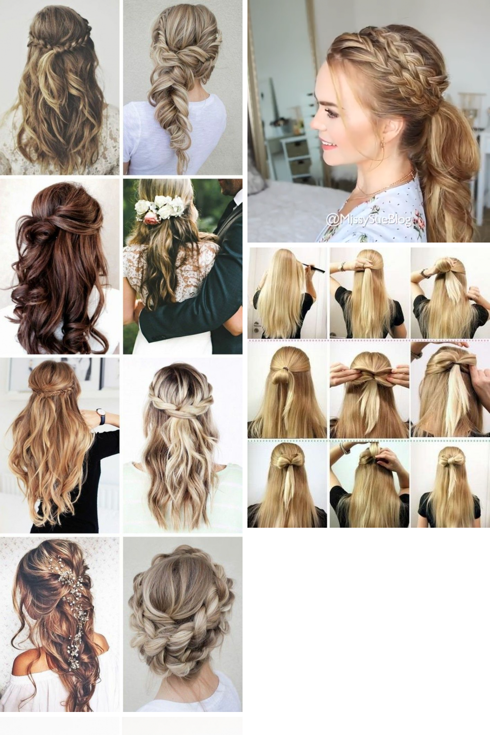 28 Cute Everyday Hairstyle Ideas For You Easy Everyday Hairstyles Cute Everyday Hairstyles Everyday Hairstyles