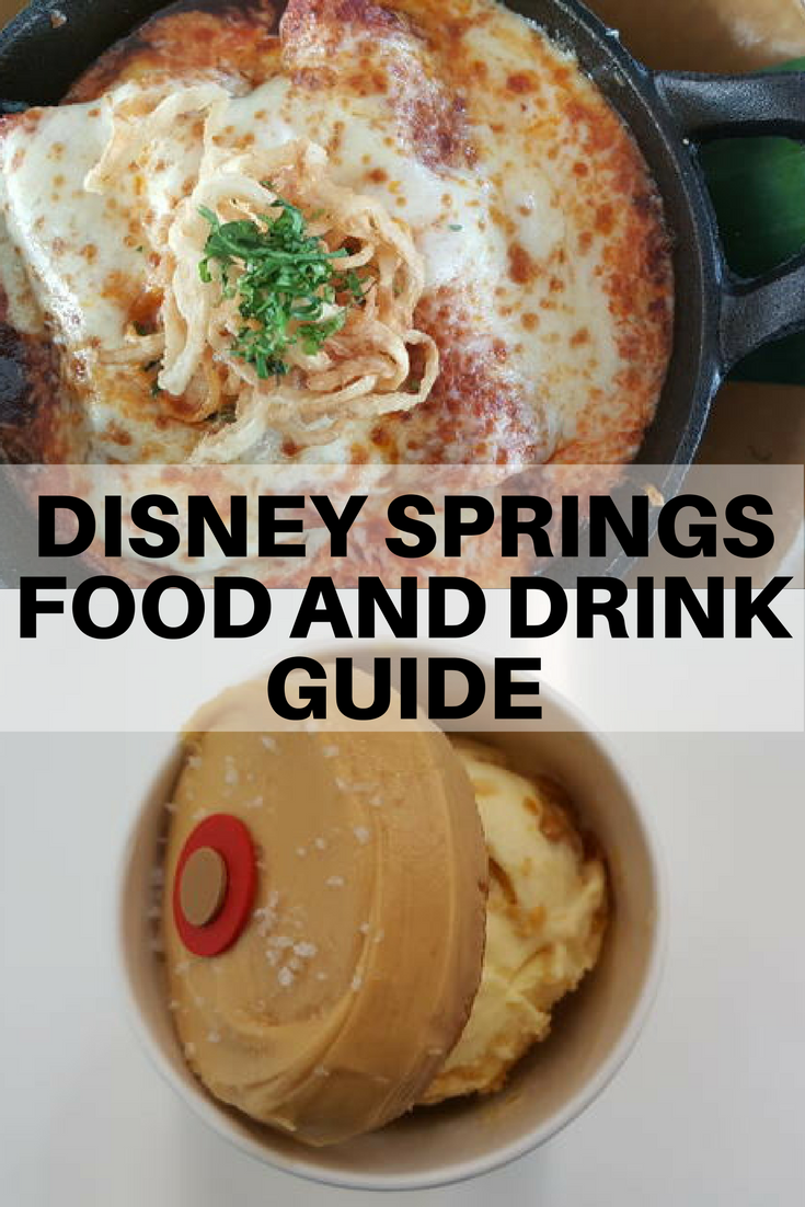Disney Springs tastes a little different than its earlier life as Downtown Disney. Don't let the fancy restaurants scare you however -- there are plenty of options for more casual fare as well.