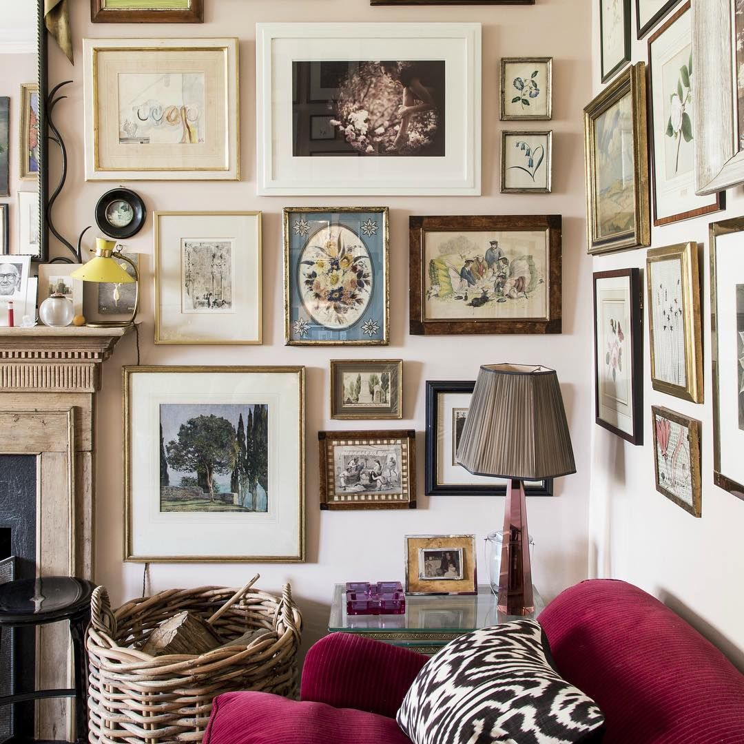 Scandinavian Home Design Looks So Charming With Eclectic: Rita Konig's Charming London Home