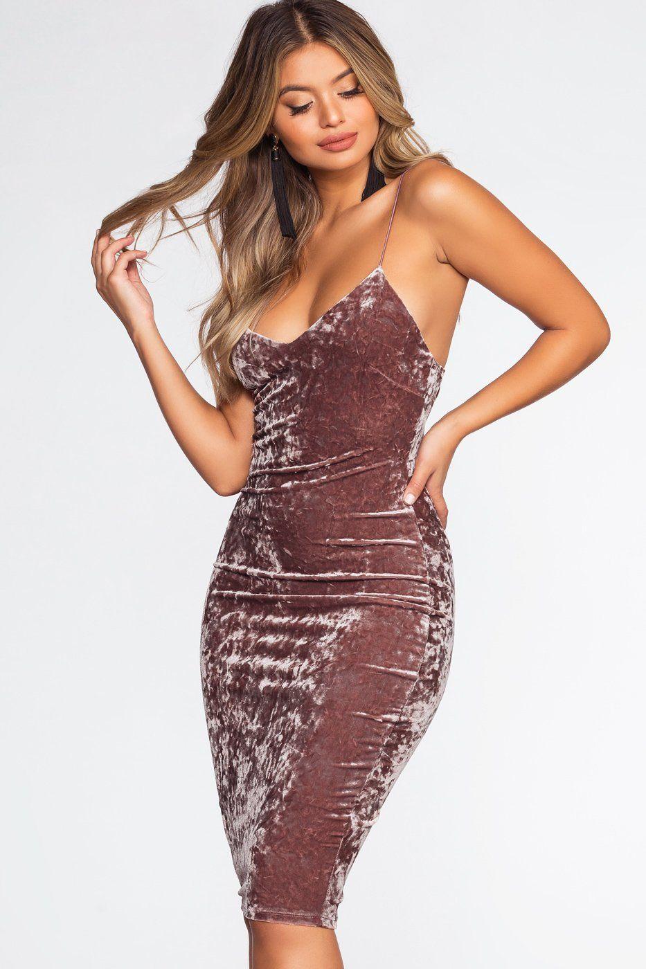 Soft touch midi dress marsala midi dresses sweet dress and
