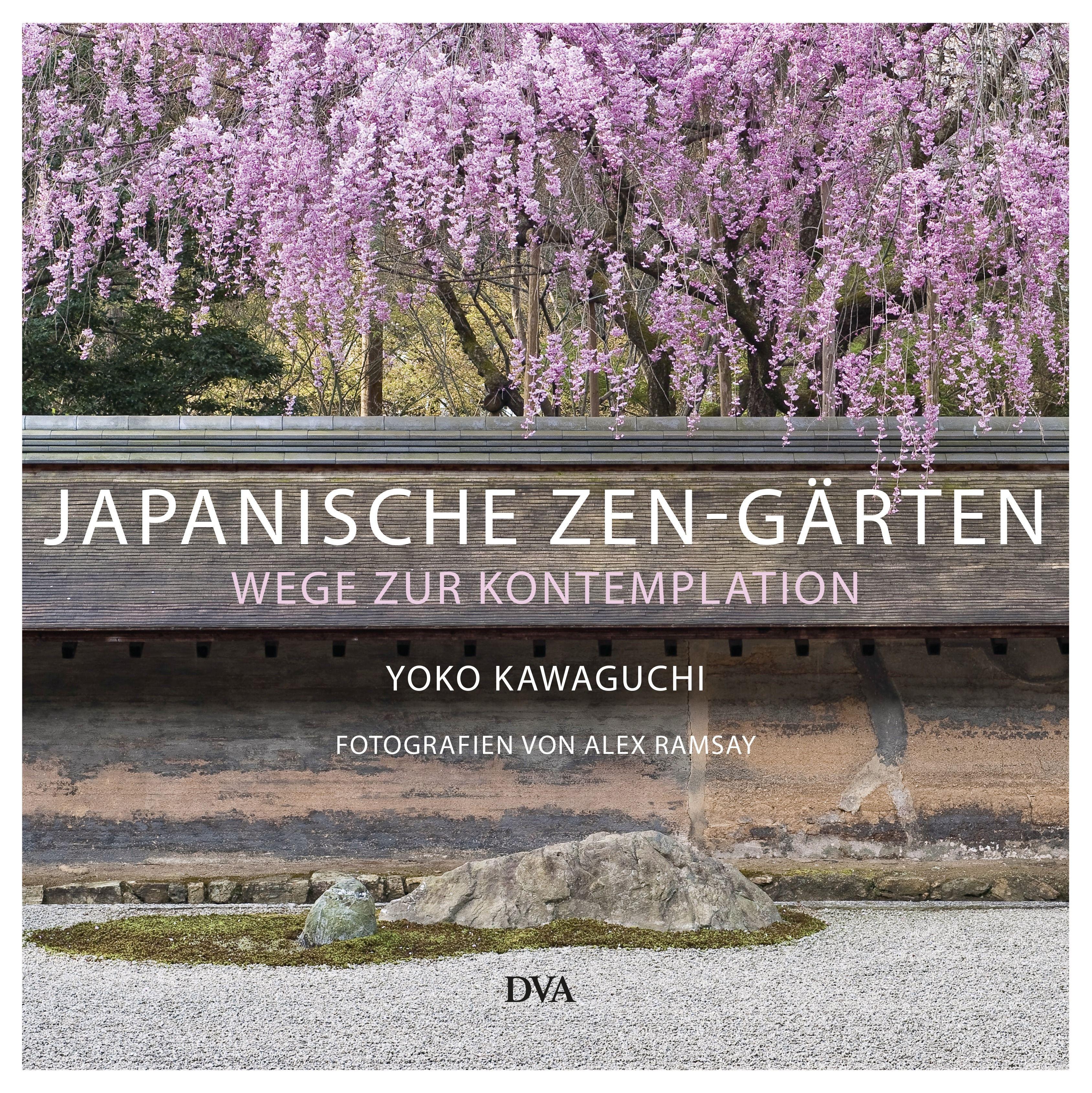 Japanische Zen-Gärten von Yoko Kawaguchi - Teich und Stein, Kranich und Schildkröte