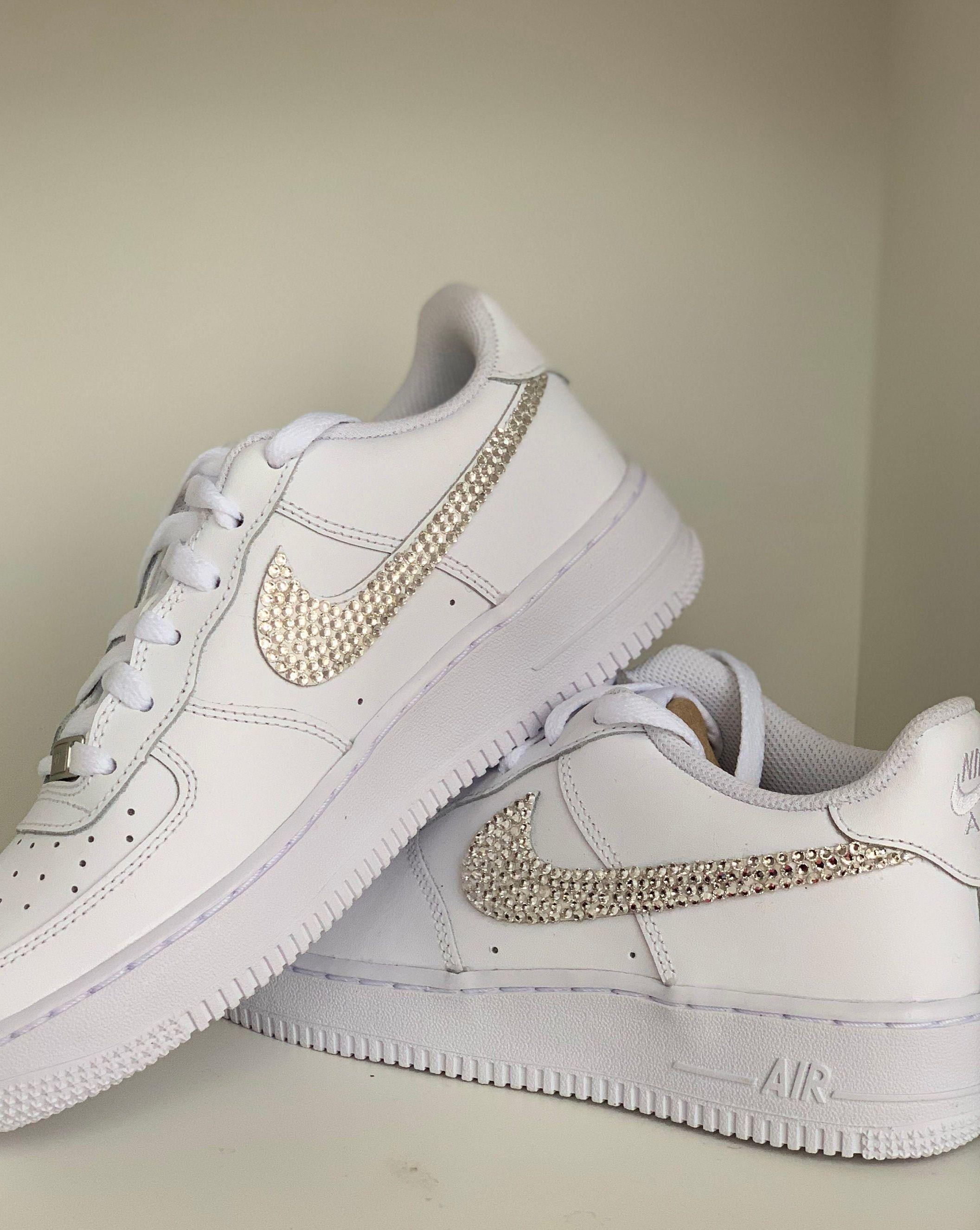 Glitzer Air Force Custom In 2020 Nike Air Force Nike Air Air Force
