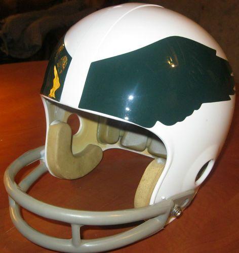 Philadelphia Eagles Vintage Throwback Riddell 1970 White Football Helmet Old Football Helmets Football Philadelphia Eagles