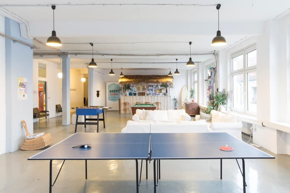 Ahoy Berlin Is A Space For Coworking And Innovation Where Individuals And Companies Can Rent Fully Equip Quiet Office Private Office Space Event Space Rental