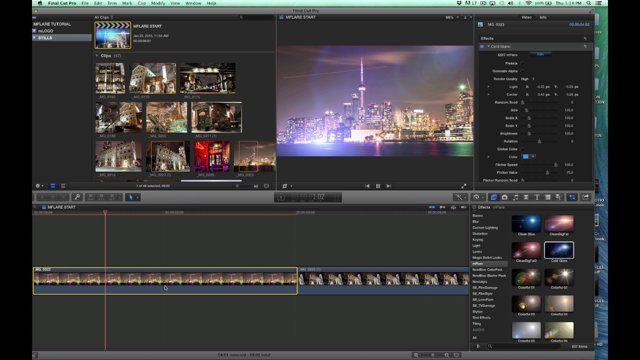 mFlare 1 5 Tutorials mFlare 1 5 Plugin for Final Cut Pro X