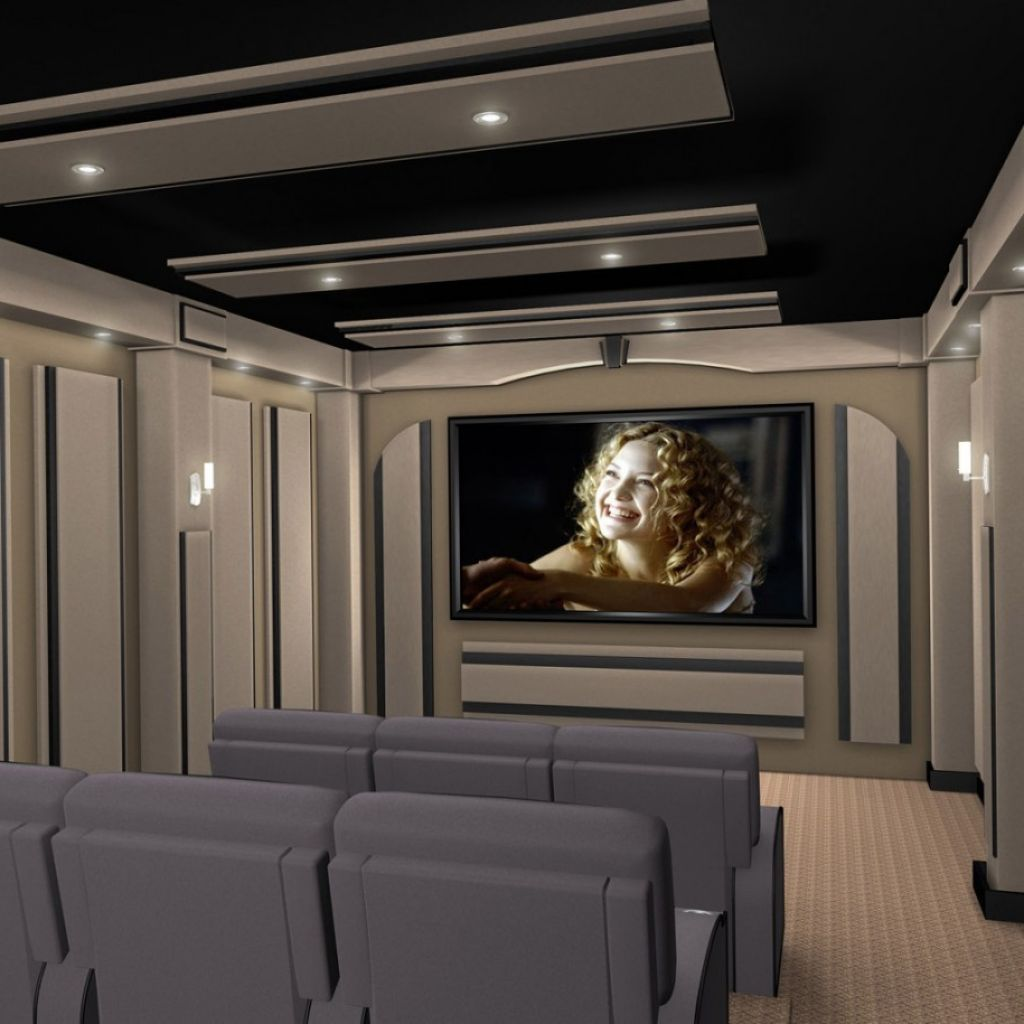 Interior , Home Theater Design Ideas Creating A Relaxing