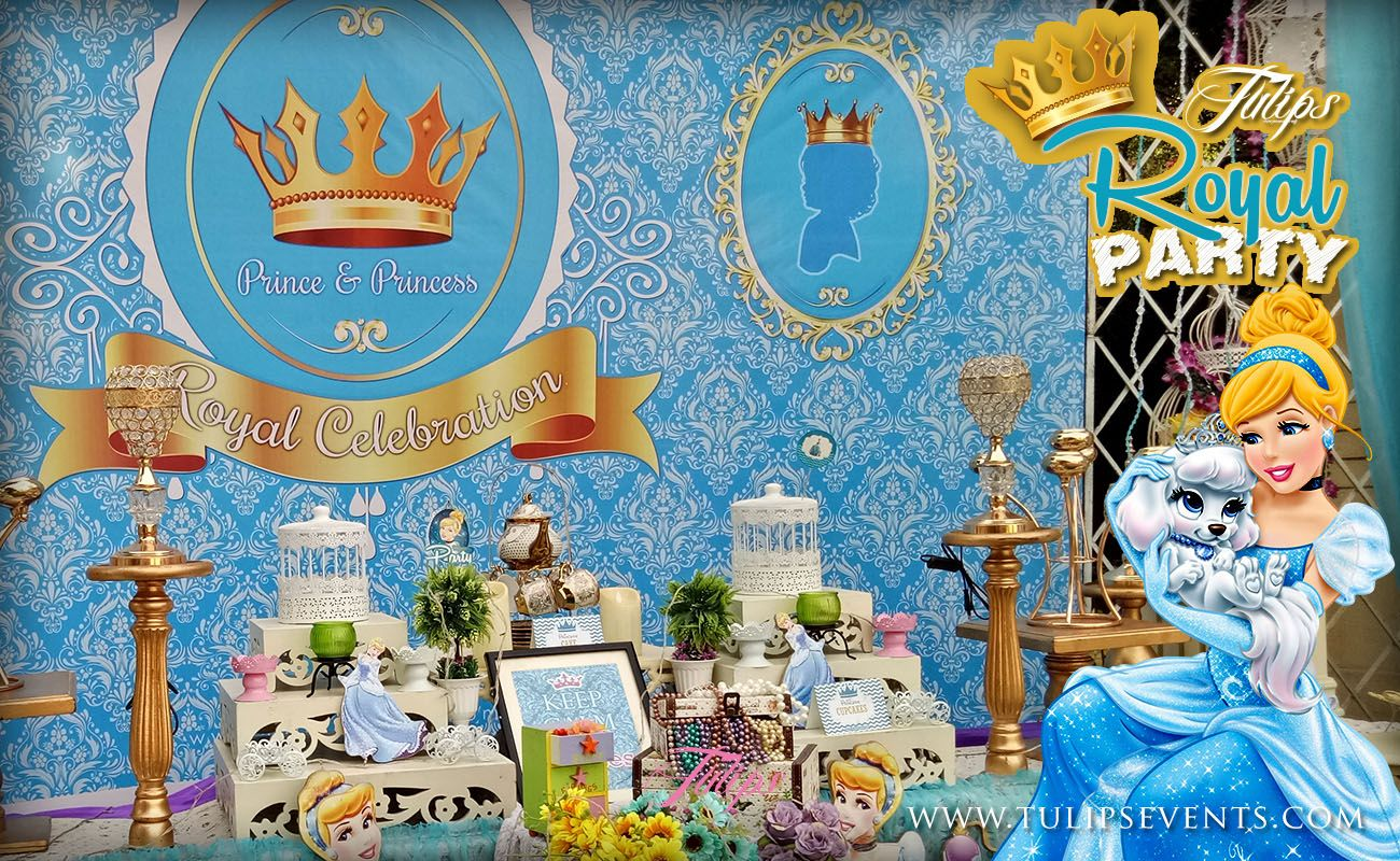 Royal Prince And Princess Birthday Party Theme Decoration Ideas In