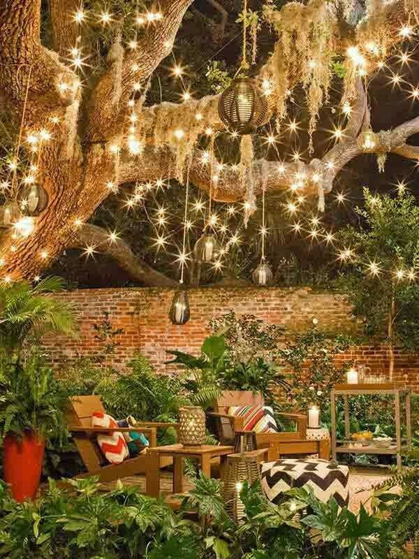 Pin By Farah Vahranda On Garden Dream Backyard Outdoor Patio Lights Backyard