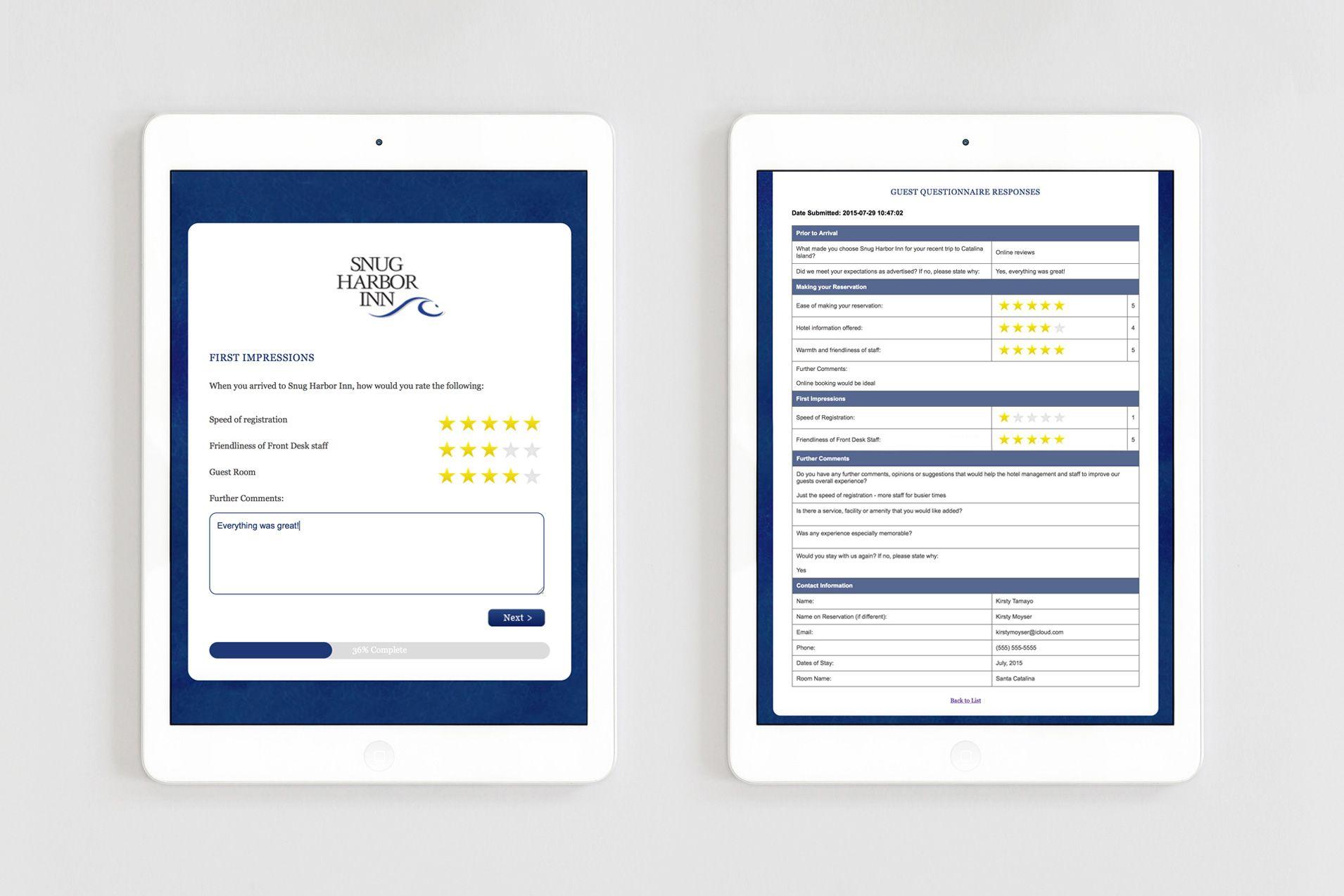 website design hotel online guest questionnaire hotel. Black Bedroom Furniture Sets. Home Design Ideas