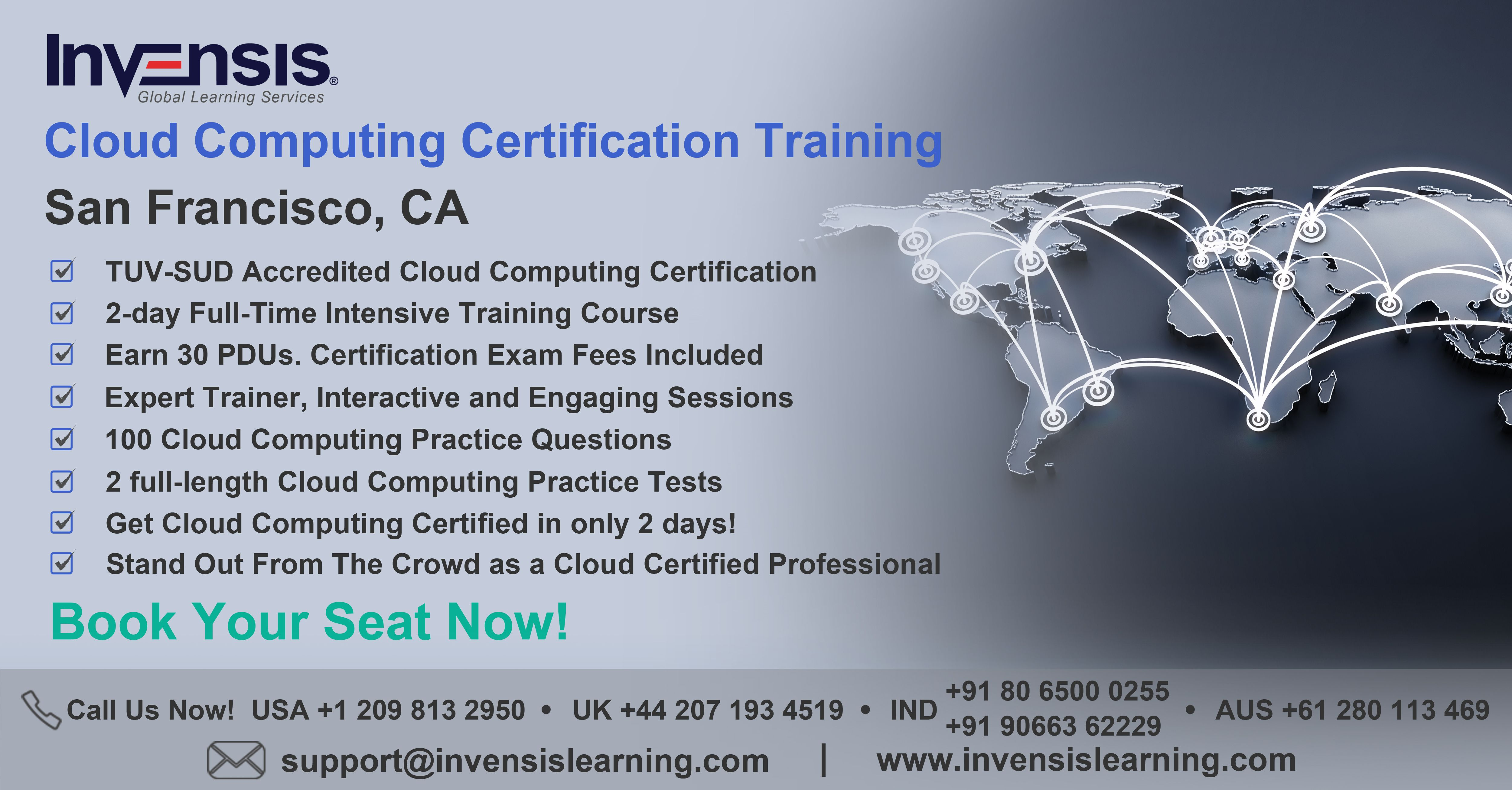 Get tuv sud cloud computing elementar professional tccep invensis learning is conducting a 2 day full time tuv sud accredited cloud computing certification training and exam preparation xflitez Images