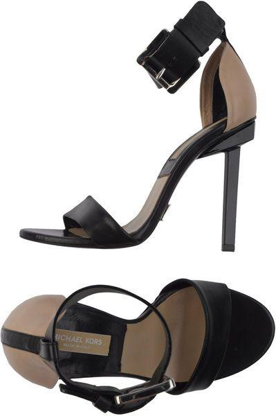 """Dress Like an Italian Woman"" __ #Michael Kors Highheeled Sandals"