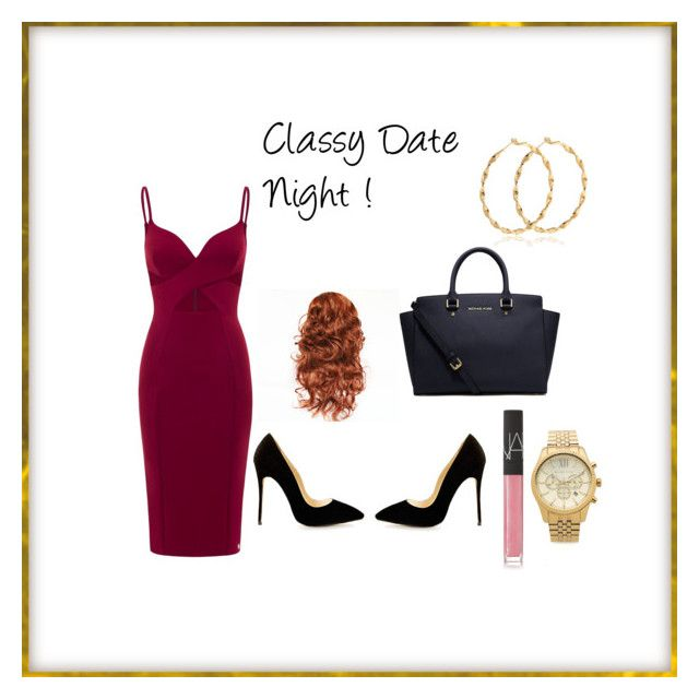 """Classy Date Night !"" by baybeebrii on Polyvore featuring Michael Kors and NARS Cosmetics"
