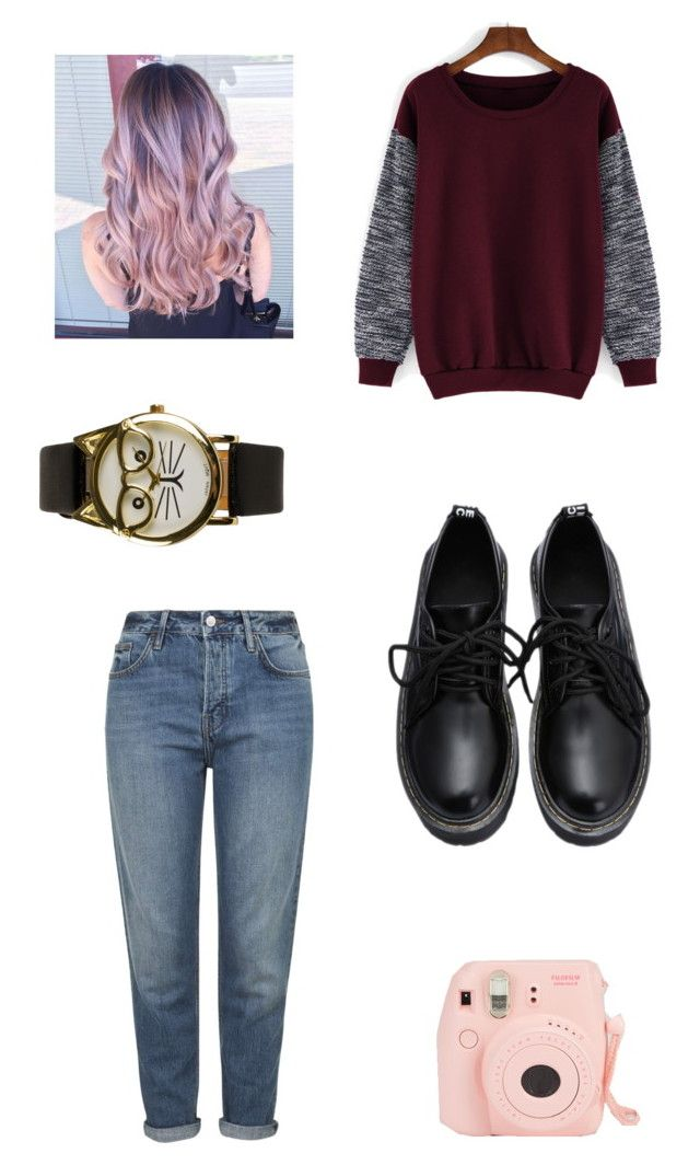 """""""Untitled #78"""" by akilah-grant-sullivan on Polyvore featuring Topshop, JFR, women's clothing, women, female, woman, misses and juniors"""