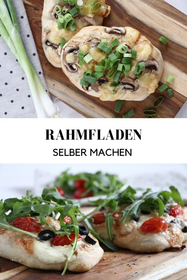 Rezept: Rahmfladen - vegetarisch genießen - Lavendelblog