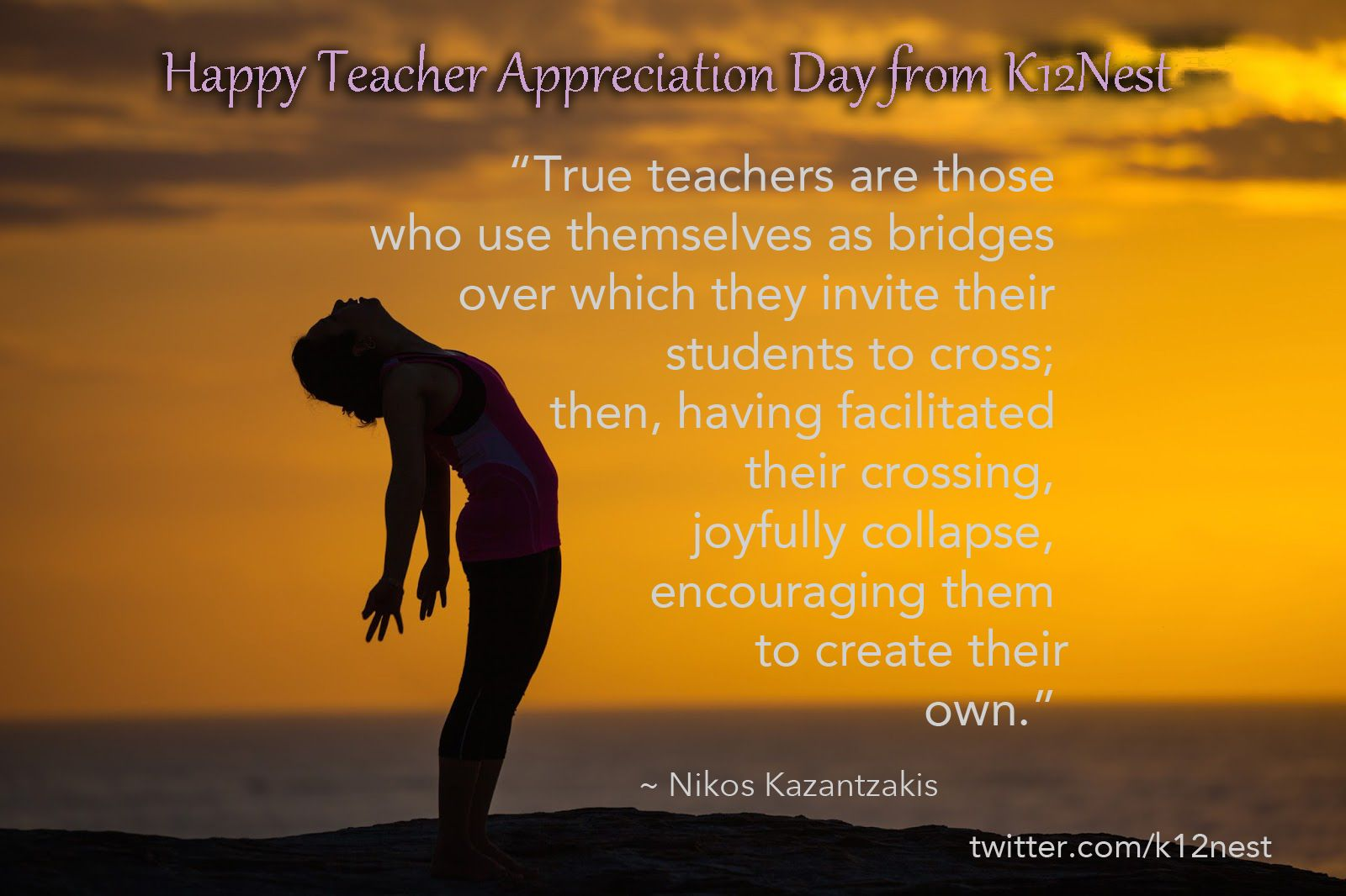 All Of Us At K12nest Would Like To Wish All Teachers Happy