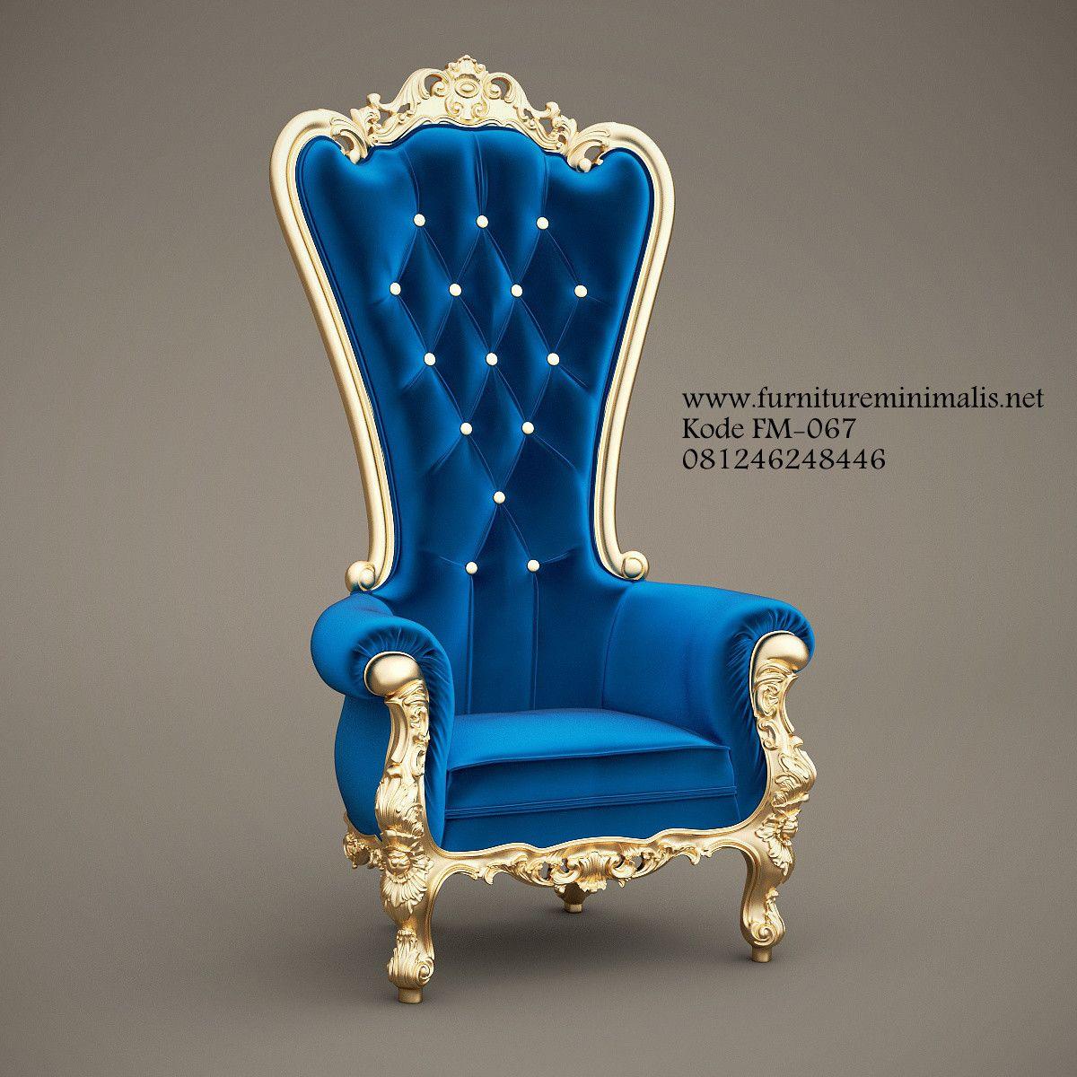 Desain Kursi Sofa Dengan Model Syahrini Mewah Gold Metal