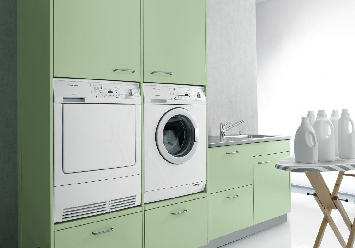 Waschküche | Forster Küchen Stahlküche Alno
