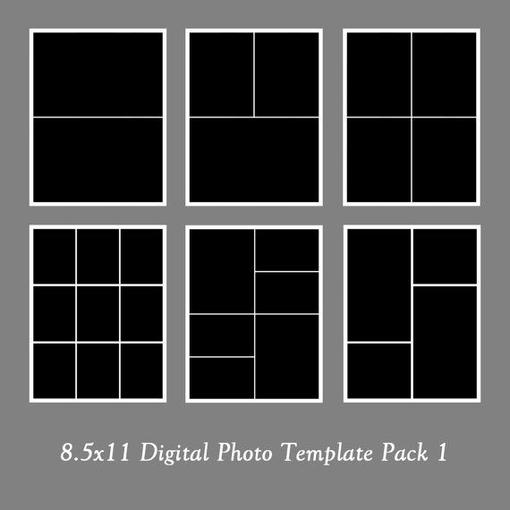 photo template pack collage templates portfolio design scrapbook templates. Black Bedroom Furniture Sets. Home Design Ideas