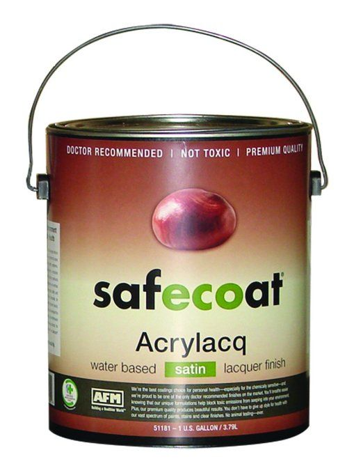 Amazon Com Afm Safecoat Acrylacq Waterbased Satin Finish