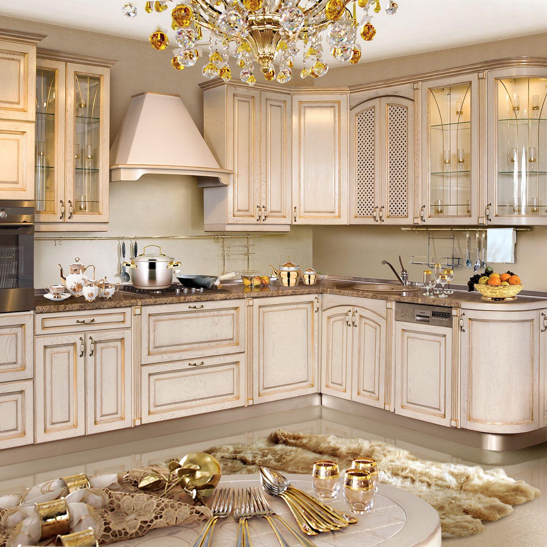 Exclusive Küche Im Landhausstil Möbel Stil Mediterran Klassik