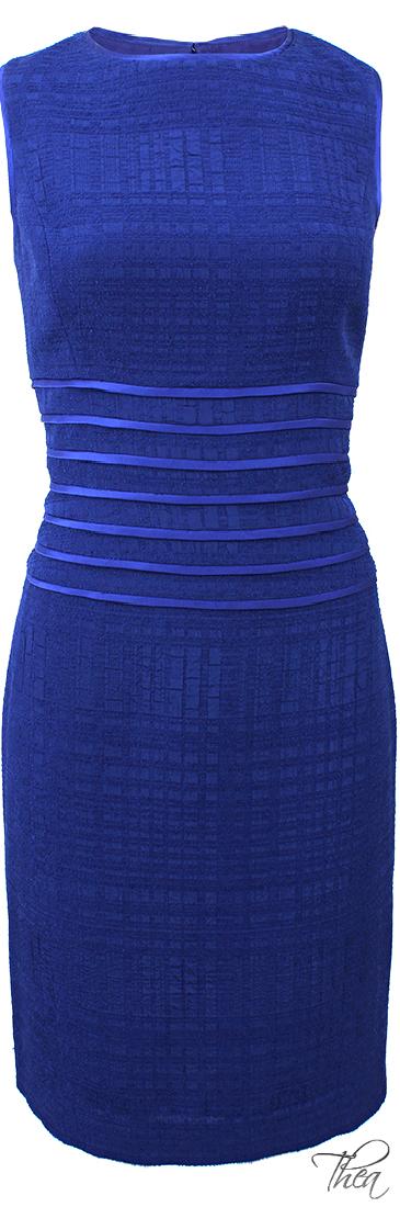 Oscar De La Renta ● Boucle Jacquard Dress