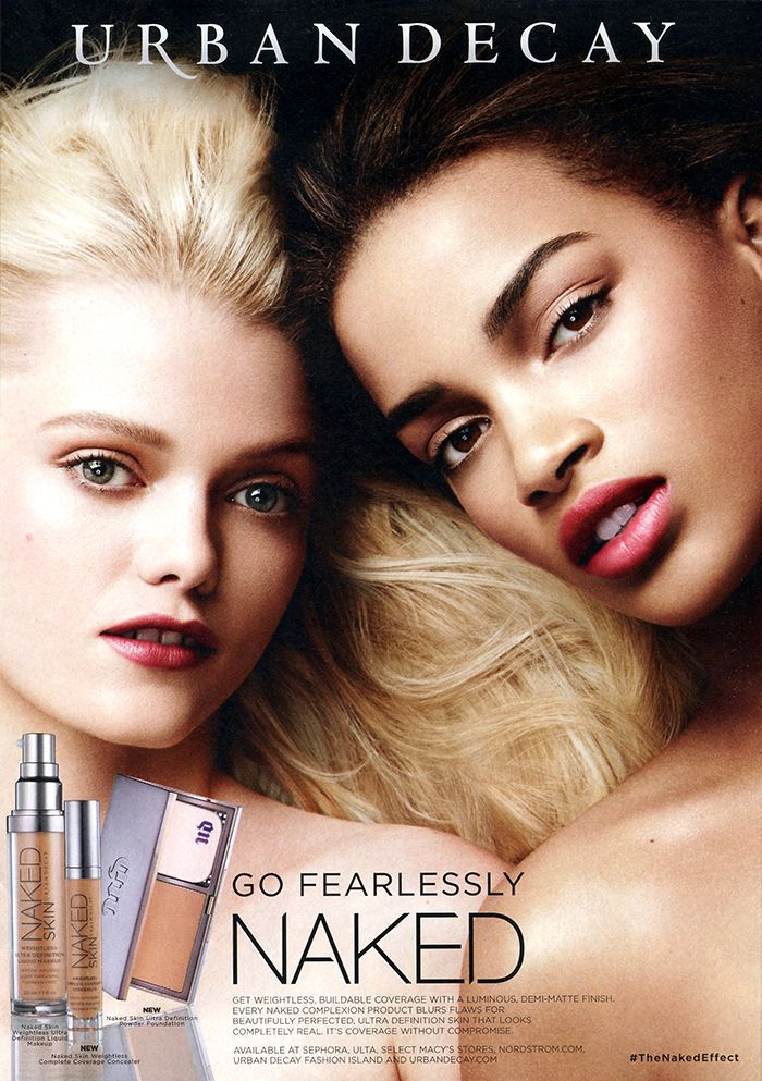 Nisaa Pouncey   Urban Decay Campaign   Photographed by Ben ...