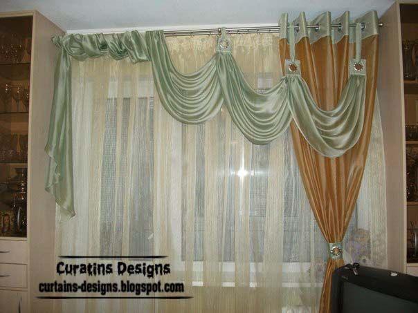 Unique living room curtain design green drapescurtains designs