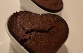 Chocolademoelleux uit 'Bakken met Gevoel'