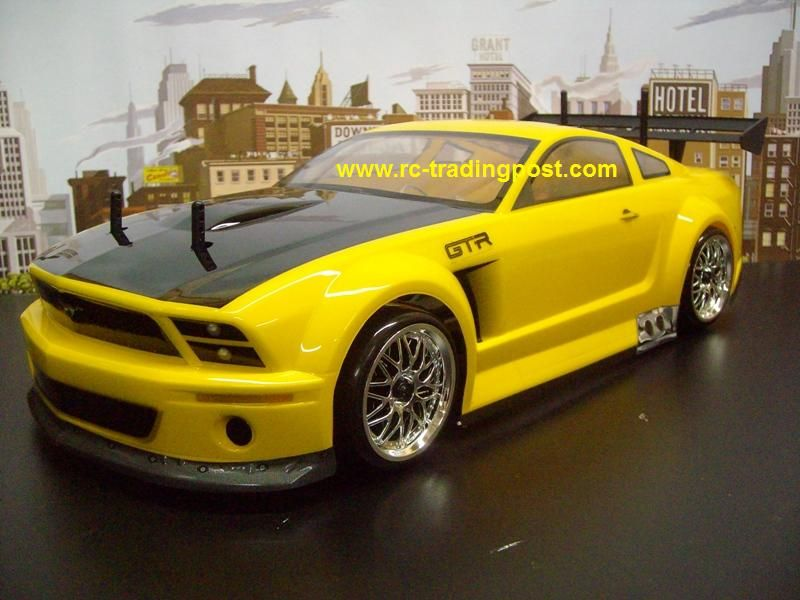 Ford Mustang GT R Hpi RS4 3 Drift RTR Custom Painted Painted Nitro RC .
