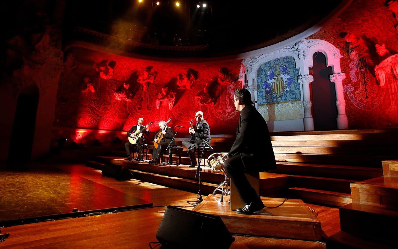 Barcelona Guitar Trio - Entre dos Aguas (Homenaje a Paco de Lucía)
