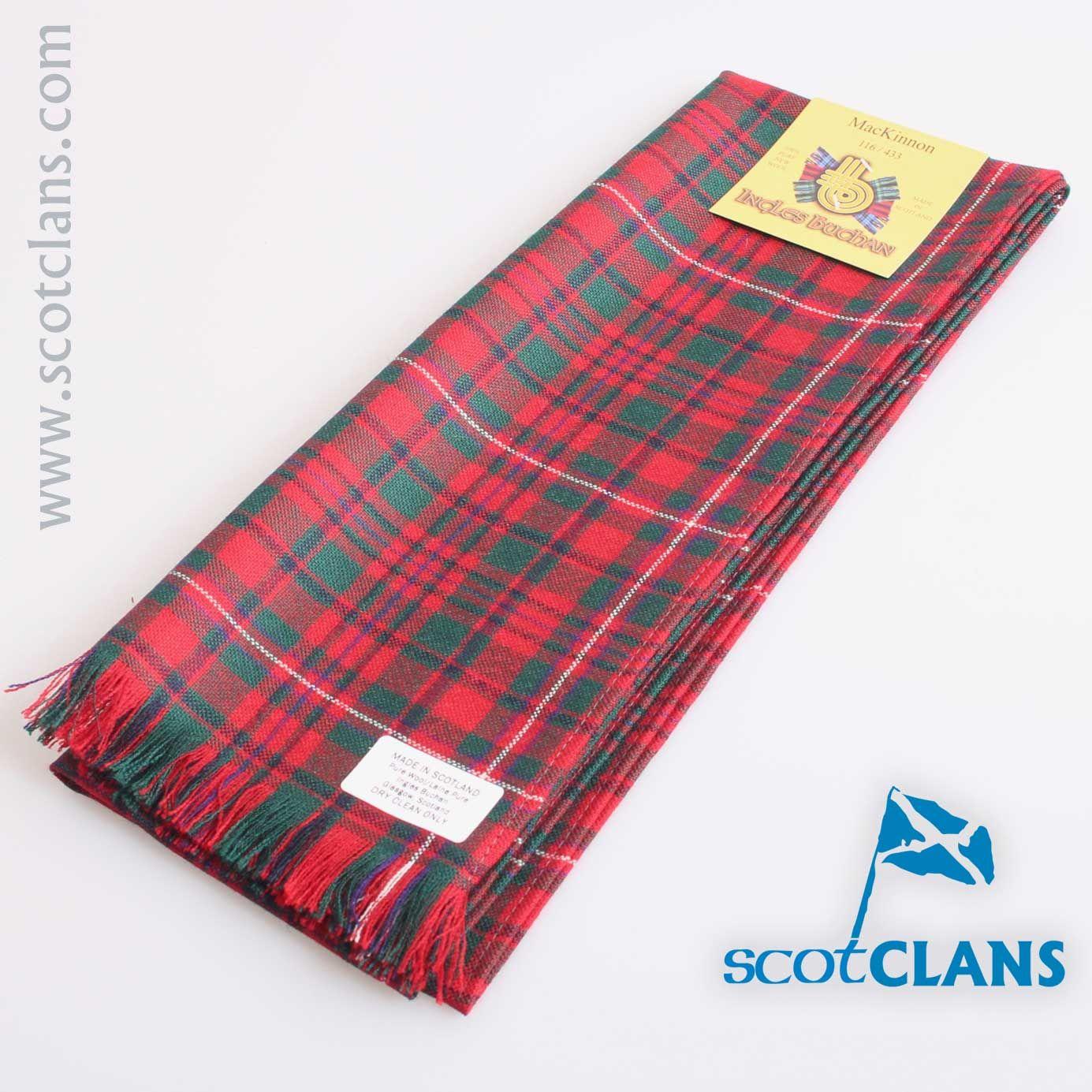 MacKinnon Modern Tartan Scarf | Clan MacKinnon Products | Pinterest ...