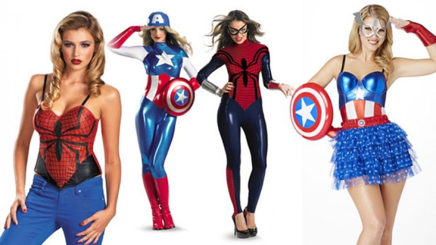 disfraces superheroinas