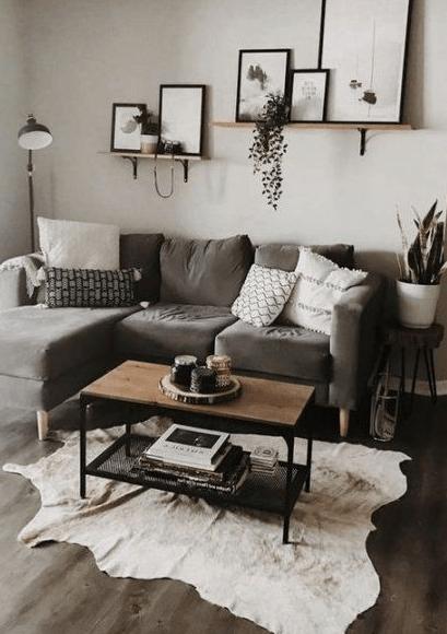 25 Minimalist And Modern Apartment Living Room Design Ideas