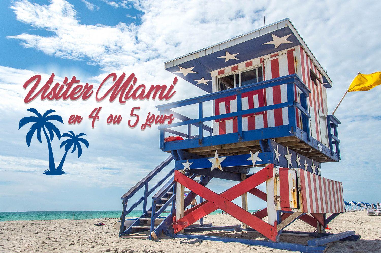 Conseils Pour Visiter Miami En 5 Ou 6 Jours Jdroadtrip Tv Visiter Miami Floride Voyage Miami