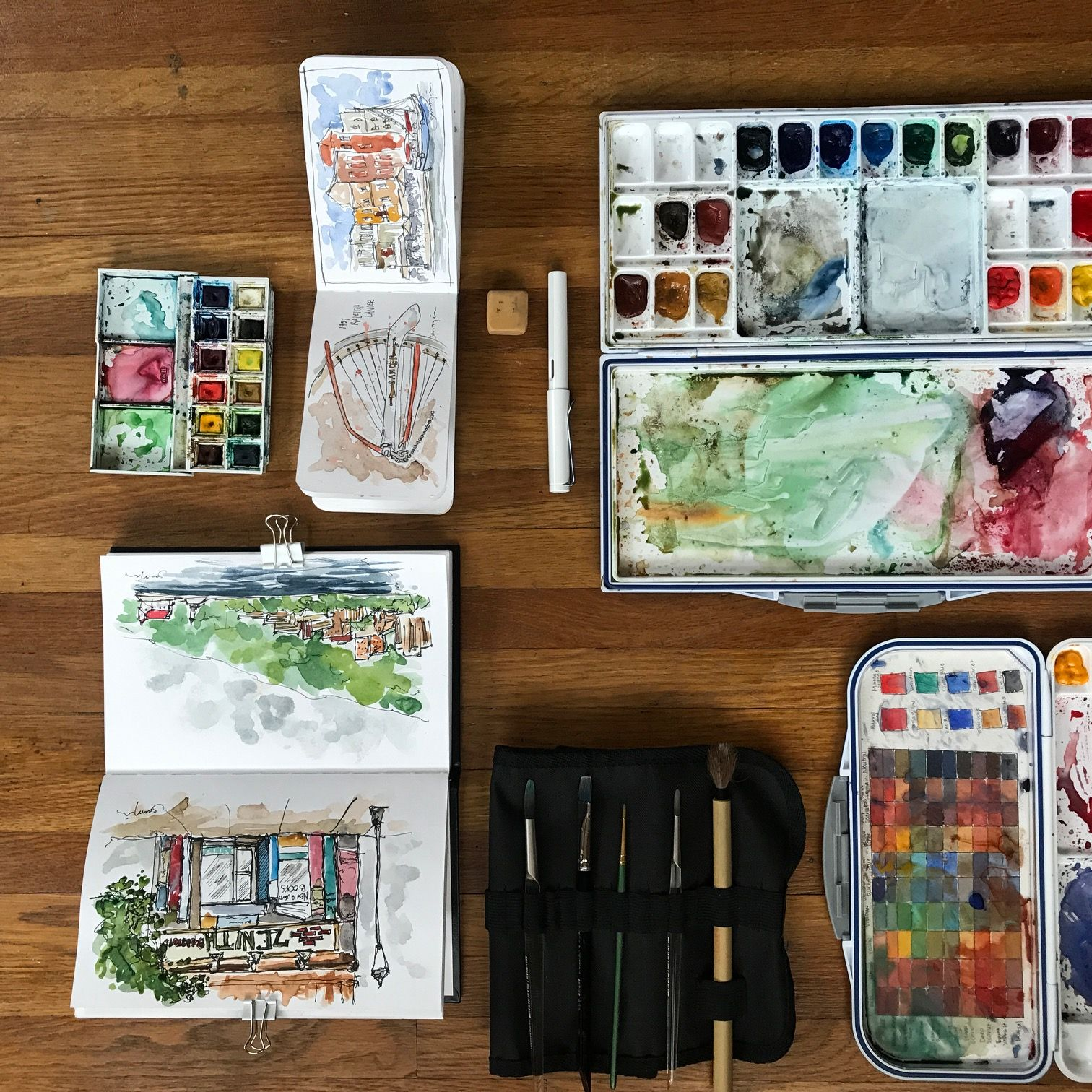 Urban Sketching Kit Supplies To Get You Started Urbansketch