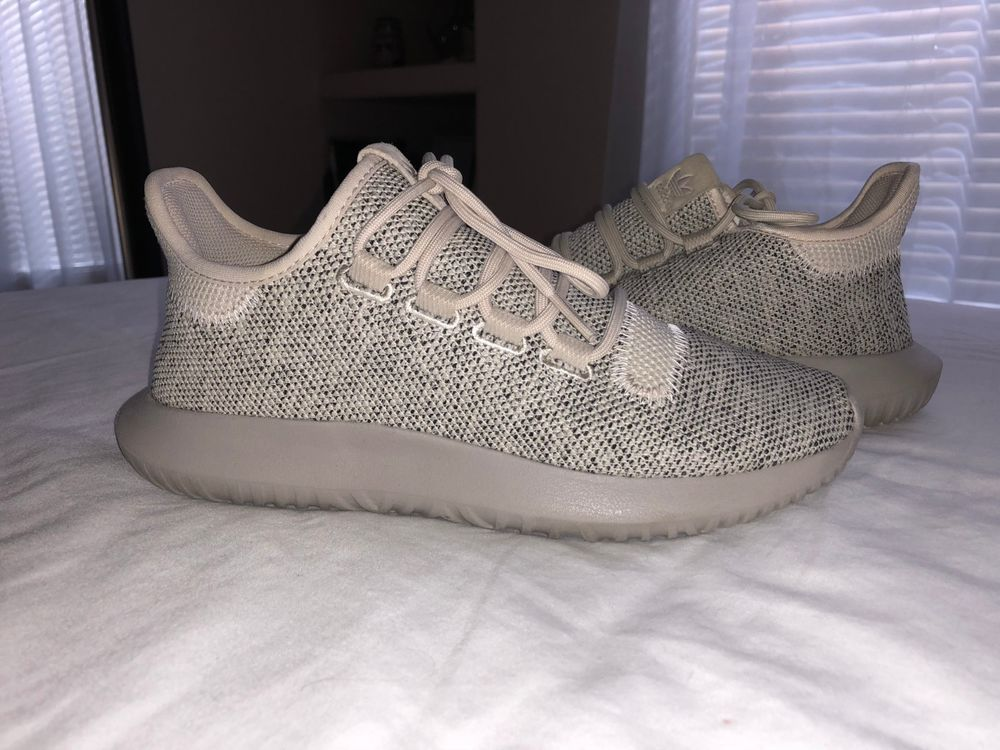 Adidas Tubular Shadow Knit Mens Bb8824 Light Brown Melange Knit
