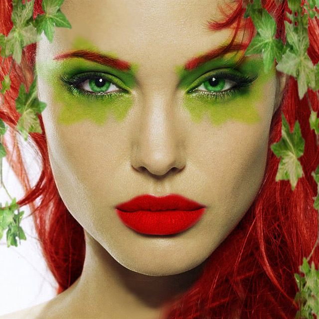 look no further for your halloween inspo and get your poison ivy look locked down thanks to carli bybels make up tutorial