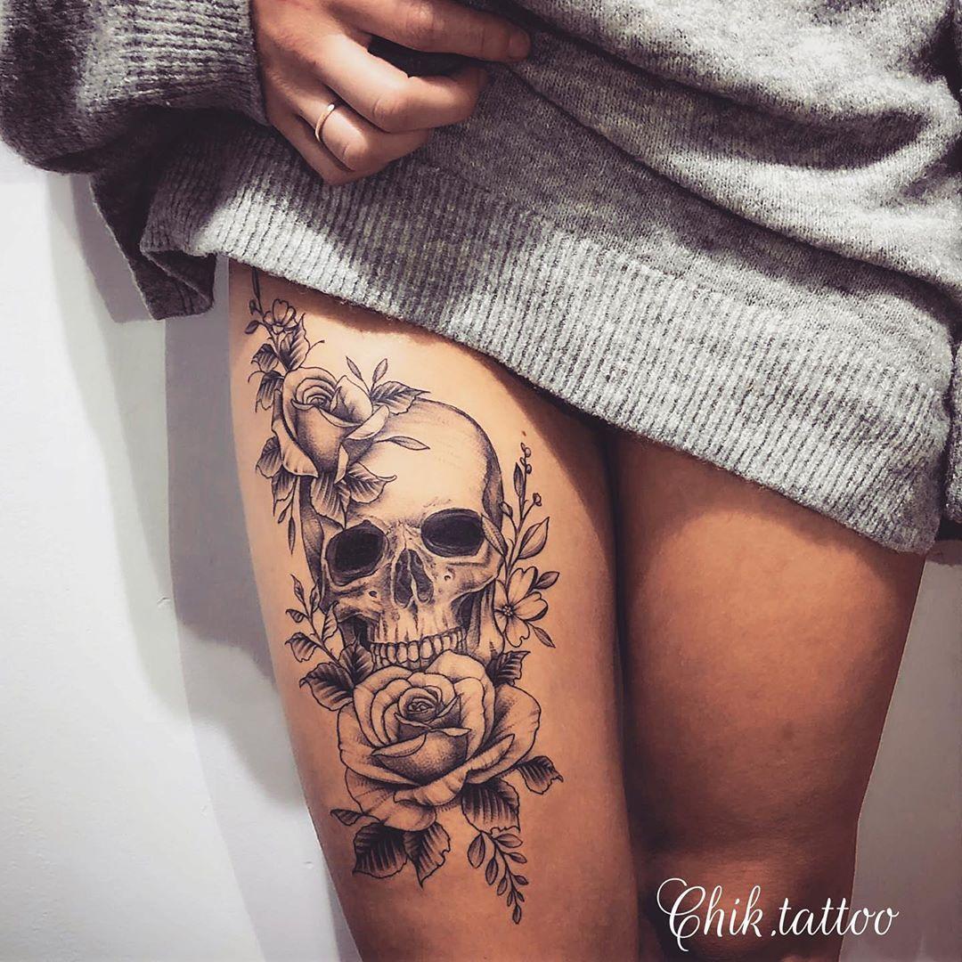 Pin On Calaveras Tatuajes