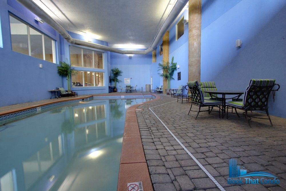 Indoor Pool And Hot Tub At Shores Of Panama Panama City Beach Condos Vacation Condos Indoor Pool