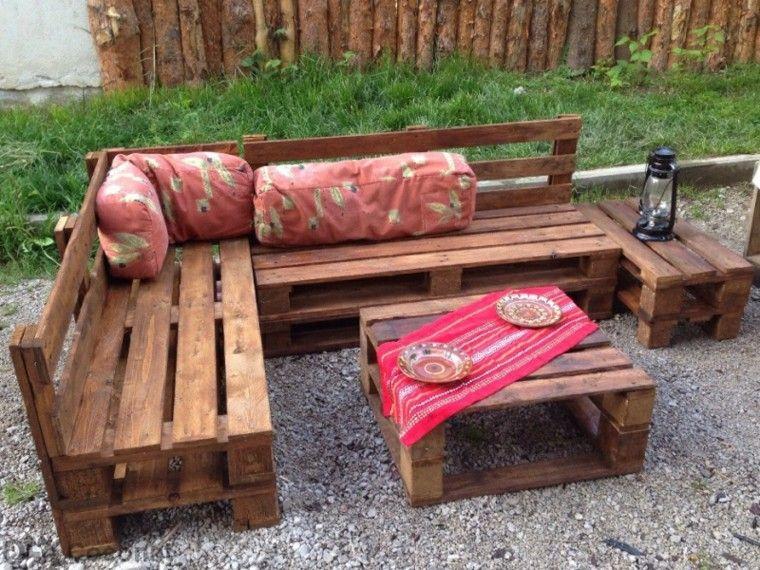 Muebles hechos con palets 100 ideas para el hogar - Ideas para palets ...