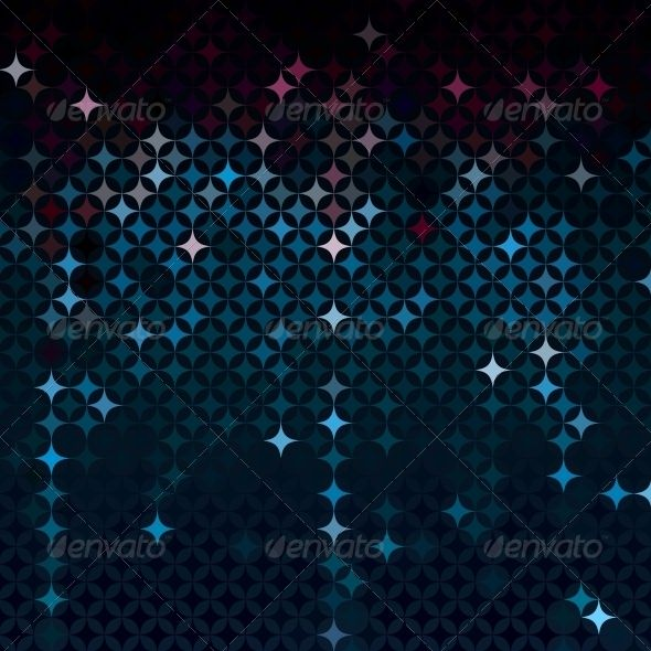 Captivating Abstract Mosaic In Dark. Club FlyersParty ... In Club Flyer Background