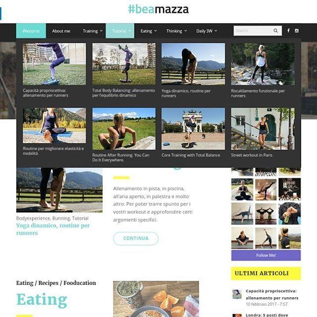 """Mi piace"": 15, commenti: 1 - gosmartpress.com (@gosmartpress) su Instagram: ""beatricemazza.it con @beamazzatrainer #Wordpress #ubermenu #milano #website #blog #run #runner…"""