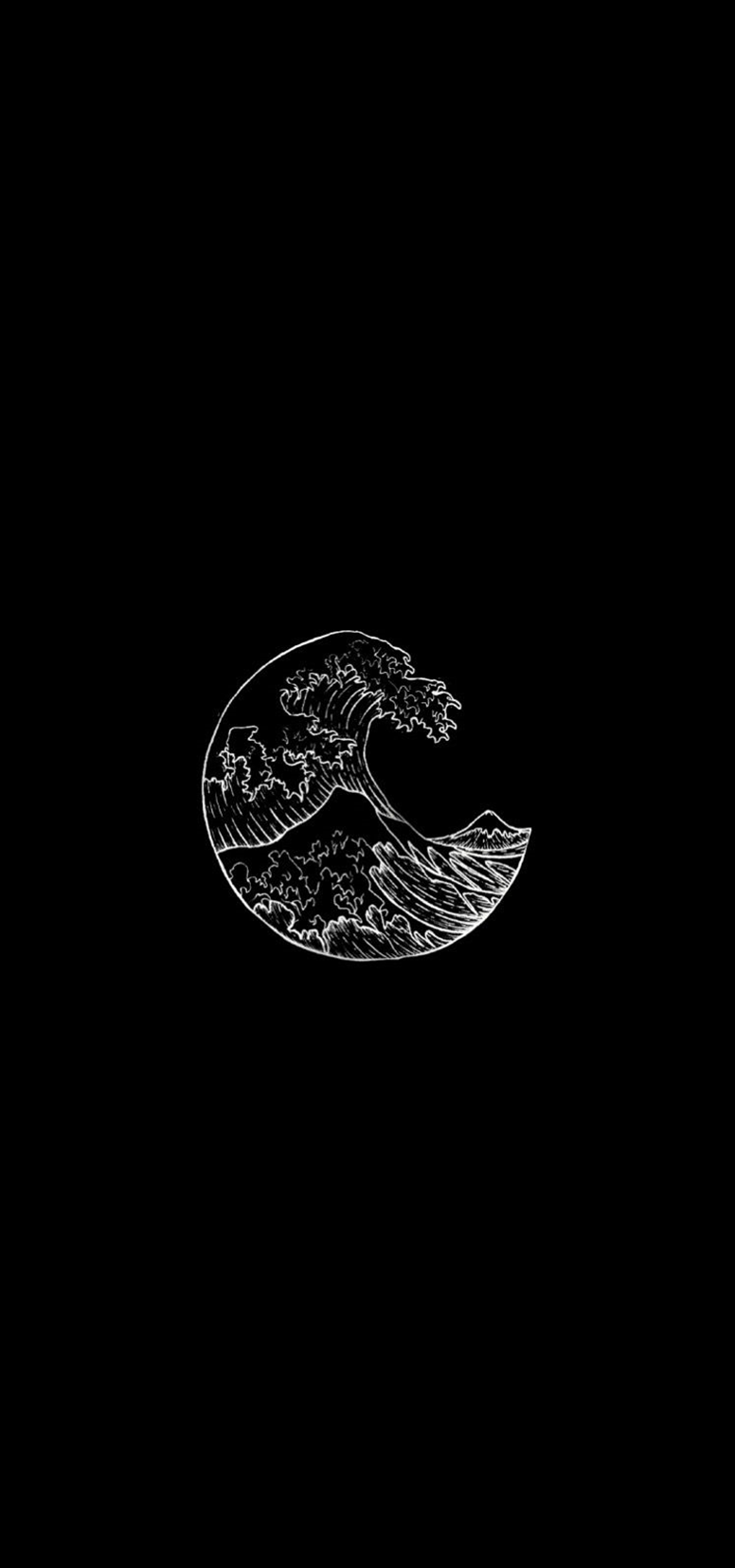 Aesthetic Dark Tumblr Backgrounds Tumblr Backgrounds 300x300 In 2020 Waves Wallpaper Iphone Black Aesthetic Wallpaper Black Phone Wallpaper