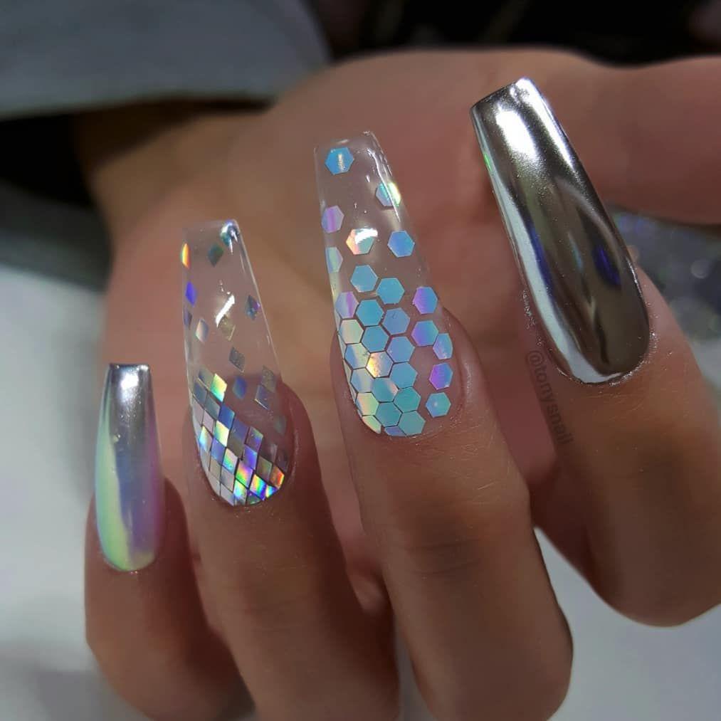Crazy Long Nails Nail Designs Gel Nails Nail Art Designs