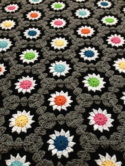 blackplanet\'s hexagons.grey | Pinterest | Patrones manta, Manta y ...