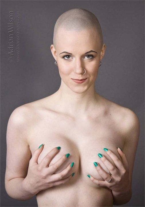 naked japanese girl shave head