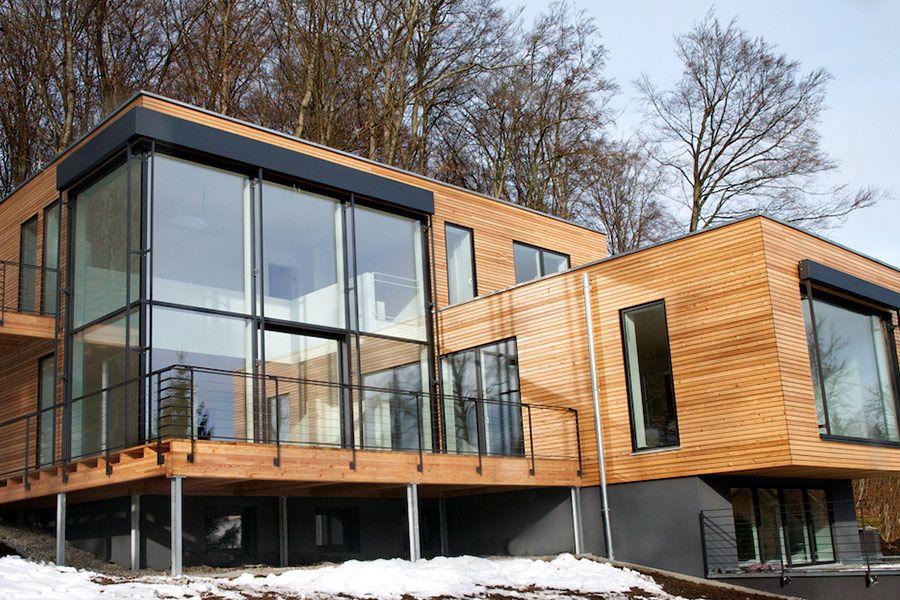 Haus Architektur, Haus Hanglage Und Architektur